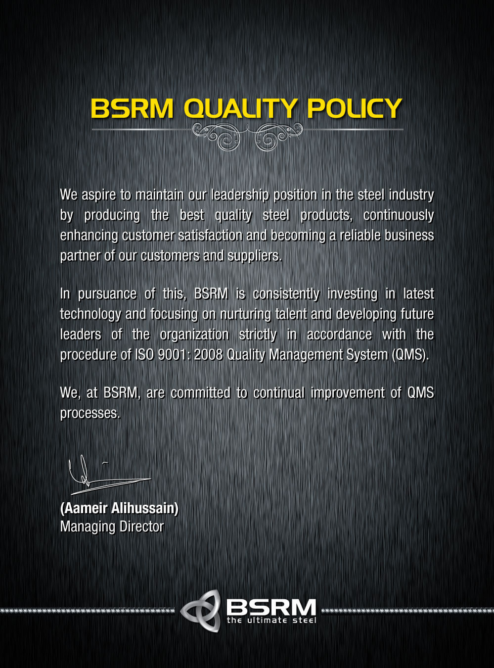 Quality Policy English