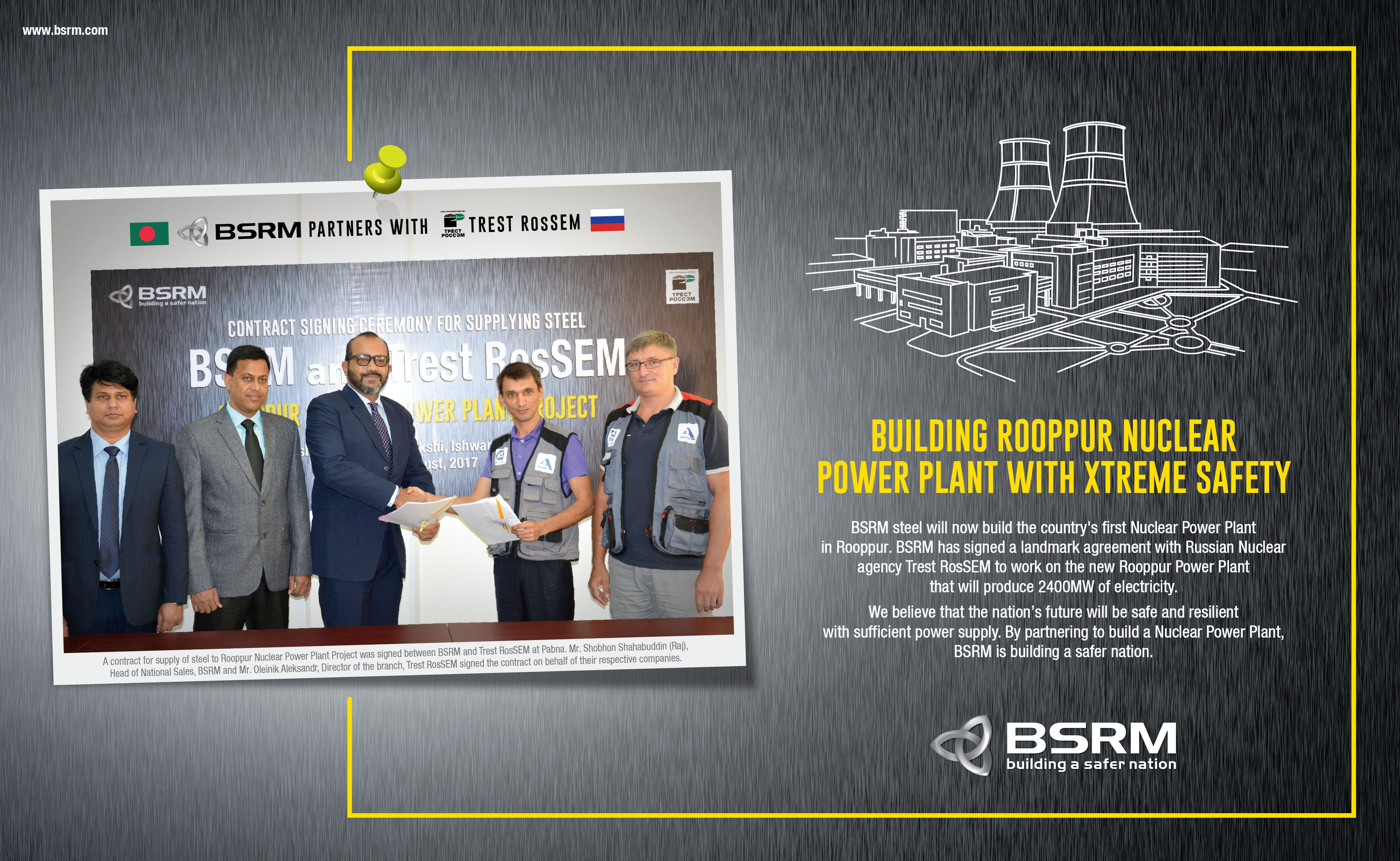 Building Rooppur Nuclear Power Plant with XTREME SAFETY - BSRM
